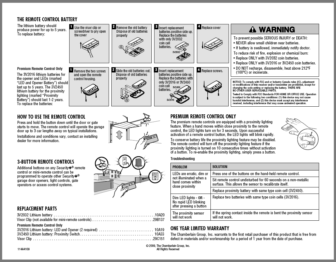 Garage doors garage door opener manuals active door changing remote battery click to download pdf rubansaba